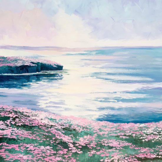 Serenidad y Armonia - Coleccion Azul - Victoria Pardo, Artista Plastica