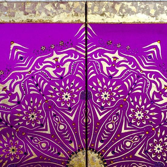 Armonía y Equilibrio- Cuadro de la Colección Magia y Color by Victoria Pardo