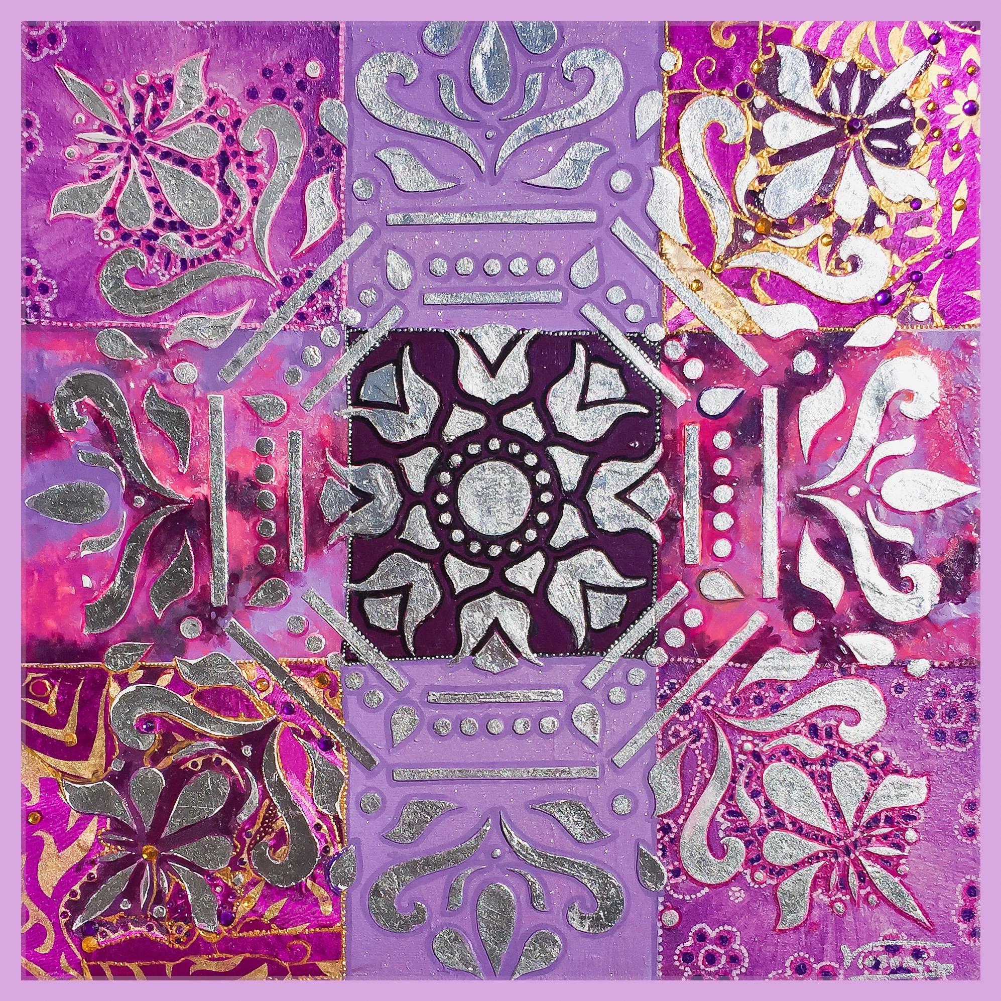 Mandala Lila Colección Magia y Color – Victoria Pardo