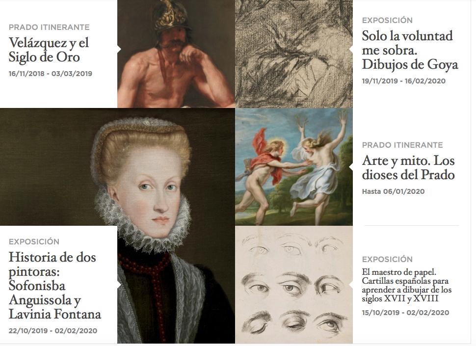 Otras exposiciones del Bicentenario de la Fundación del Museo Nacional del Prado - imagen cortesía del Museo Nacional del Prado - Victoria Pardo Artista Plástica