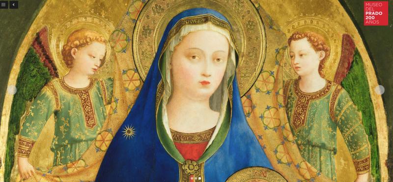 Fra Angelico en el Museo del Prado- Victoria Pardo Artista Plástica