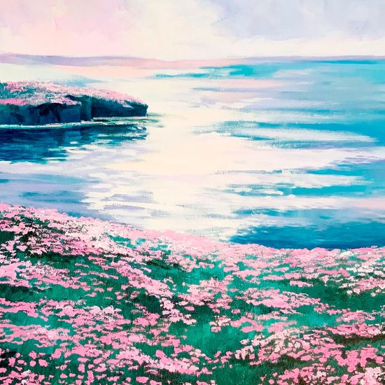Serenidad y Armonía grabado de la colección de Victoria Pardo Fine Art de edición Limitada es un regalo único