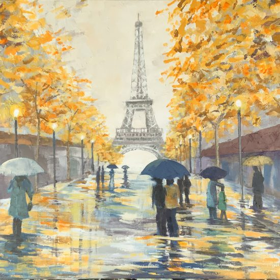 Paris sera toujours Paris by Victoria Pardo Artista Plástica